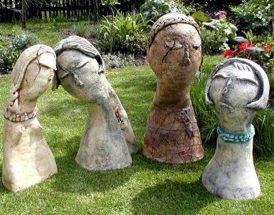 bild keramik kunsthandwerk figuren von envera