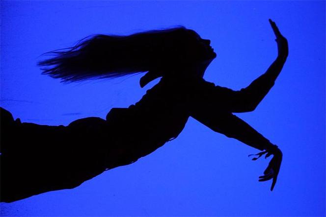 Triptychon, Surreal, Wasser, Schwimmen, Frau, Menschen
