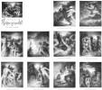 Goehte, Hexe, Zeichnung, Faust