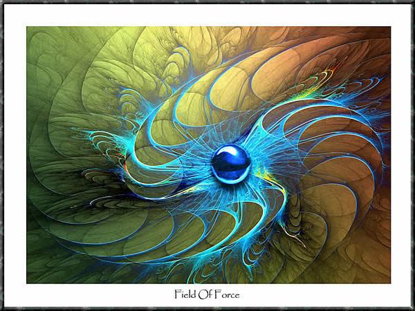 Digitale malerei, Feld, Zwang, Digital, Abstrakt, Digitale kunst