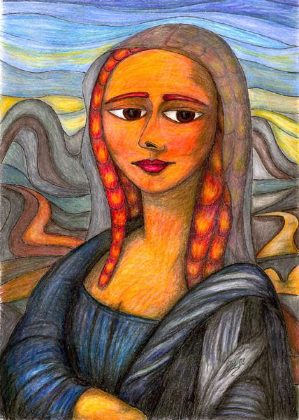 Polychromos, Natur, Portrait, Surreal, Buntstiftzeichnung, Zeichnung