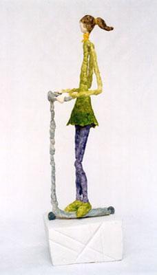 Skulptur, Bau, Plastik, Figural, Gestaltung, Haus