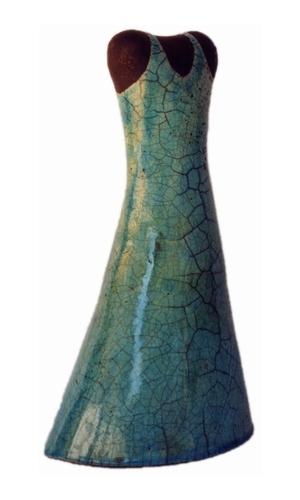 Plastik, Skulptur, Figural, Keramik, Raku, Hülle