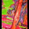 Kiekebusch, Malerei, Landschaft, Neon