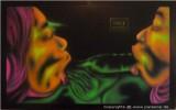 Erotik, Surreal, Malerei, Neon