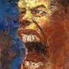 Portrait, Menschliche, Mann, Expressionismus