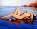 Figural, Meer, Malerei, Wasser