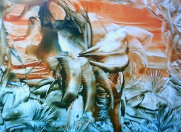 Malerei, Elefant