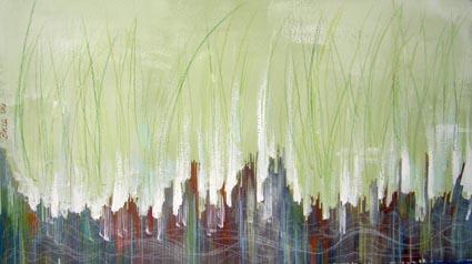 Malerei, Abstrakt, Skulptur, Gras