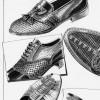 Schuhe, Zeichnung, Zeichnungen