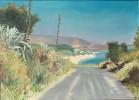 Agaven, Malerei, Mittagshitze, Griechenland