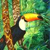 Bunt, Tiermalerei, Baum, Metamorphose