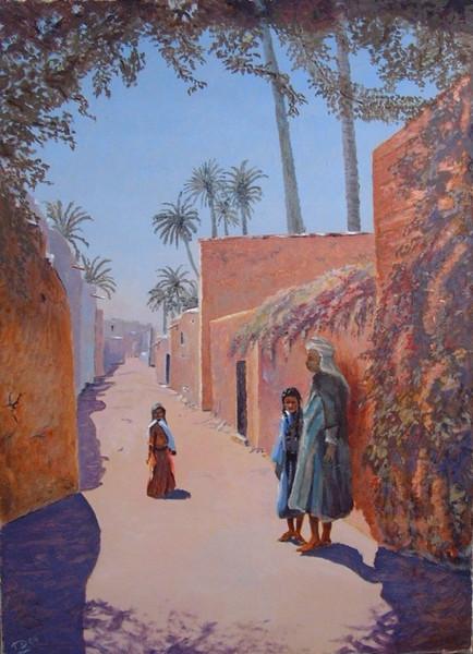 Moderne kunst, Orientalismus, Orientaliste, Orientalist, Zeitgenössisch, Algerien