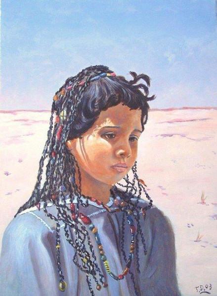 Contemporain, Orientalisch, Gemälde, Modern, Malerei, Arabisch