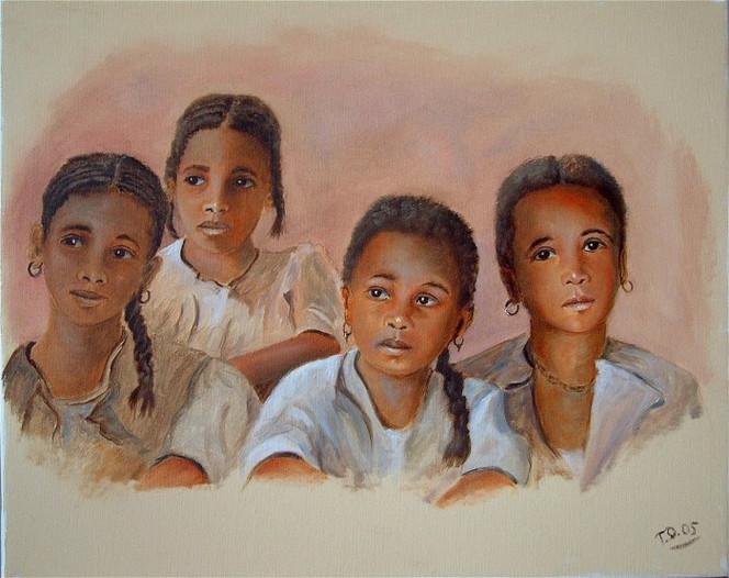 Malen, Malerei, Arabe, Orientalismus, Orientalist, Moderne kunst