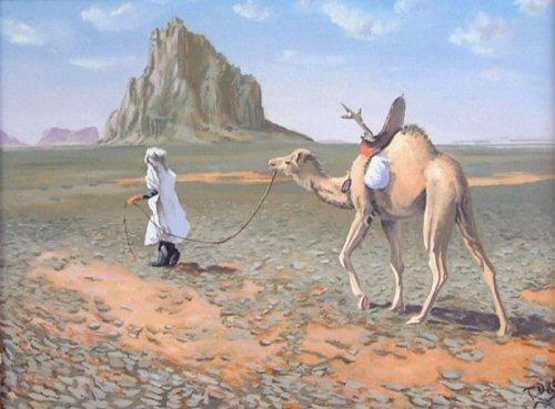 Gegenwartskunst, Orientalismus, Arabisch, Malen, Arabe, Orient