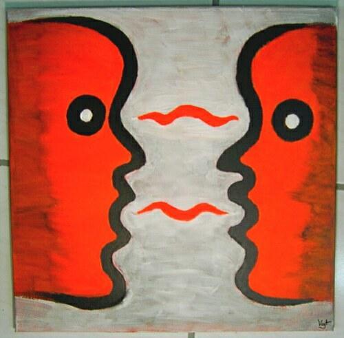 Kommunikation, Malerei