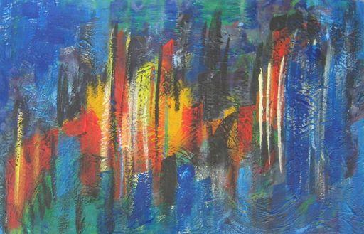 Schaukel, Farben, Malerei,