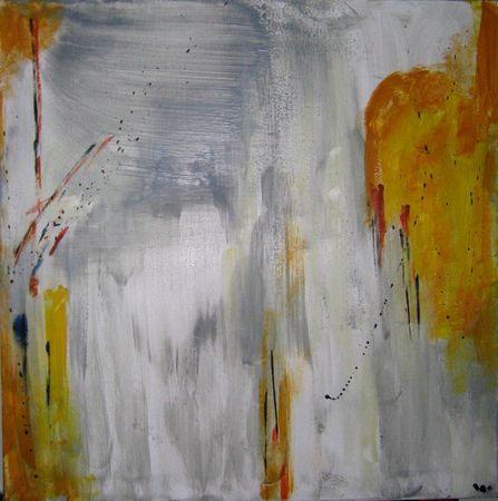 Malerei, Wintersonne,
