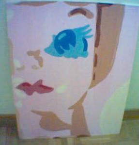 Malerei, Puppengesicht
