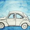 Vw käfer, Malerei, Auto, Vw