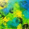 Grün, Abstrakt, Reis, Malerei