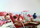 Sonne, Menschen, Realismus, Meer