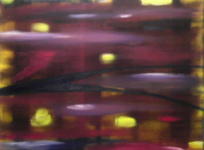 Magenta, Fläche, Phtaloblau, Abstrakt, Violett, Malerei