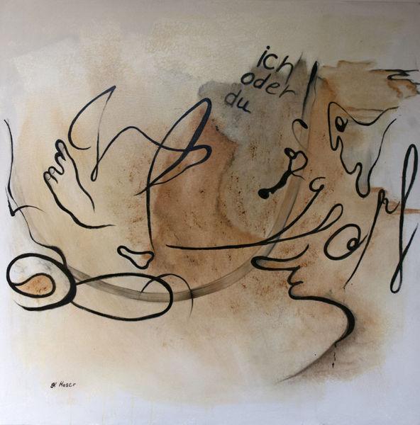 Leben, Beziehung, Gesellschaft, Menschen, Malerei