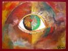 Ehrlichkeit, Augen, Jahr, Ölmalerei
