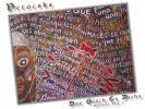 Schrift, Schriftbilder, Malerei, Afrika
