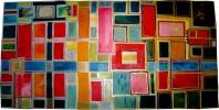 Fenster, Malerei, Magie, Acrylmalerei