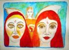 Köln, Engel, Malerei, Traum