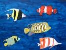 Fische, Südsee, Meer, Malerei