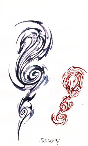 Zeichnung, Zeichnungen, Wind