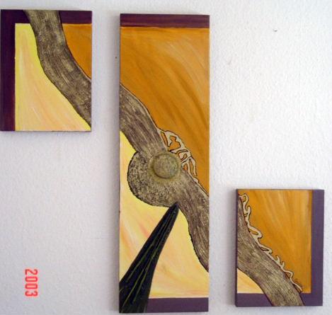 Malerei, Abstrakt, Vision
