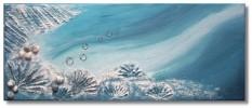 Wasser, Malerei, Blau, Muschel