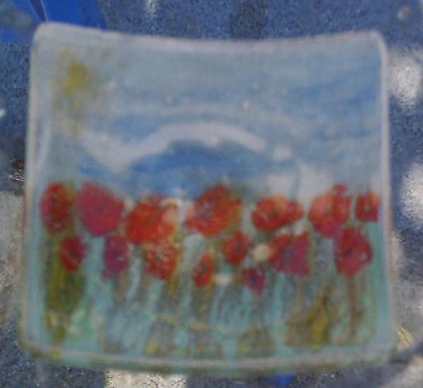 Natur, Glas, Popart, Wandbeschriftung, Fusing,