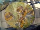 Glas, Stiefmütterchen, Blumen, Sommer