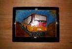 Mercedes, Glas, Bus, Spielkiste