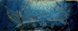 Blau, Glas, Kunsthandwerk, Freiheit