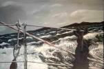 Malerei, Fotorealismus, Sturm