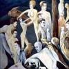 Surreal, Fantasie, Tiere, Ölmalerei