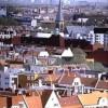 Ansicht, Panorama, Berlin, Geschäftshäuser