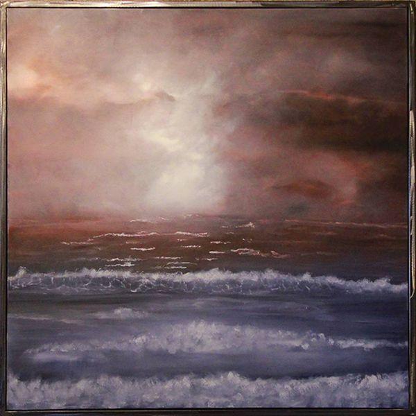 See, Traum, Wolken, Sturm, Meer, Reves