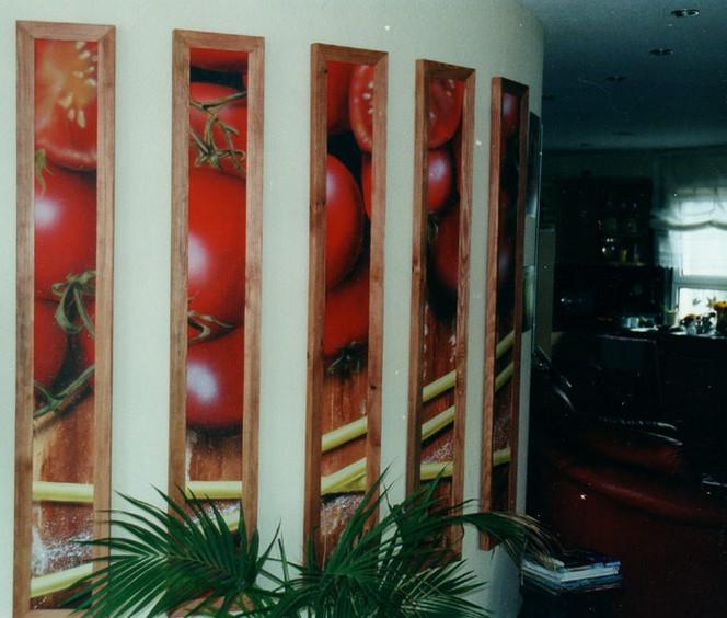 Tomate, Pasta, Italien, Malerei, Aldente, Stillleben
