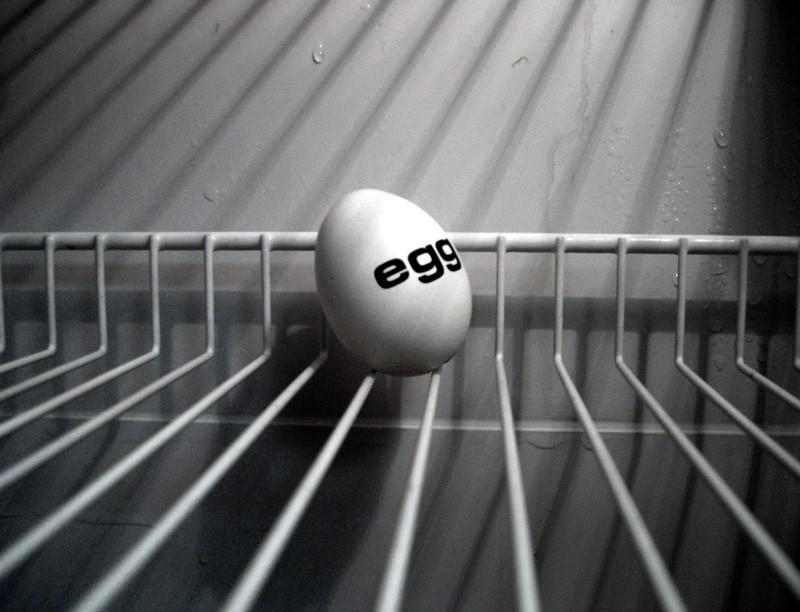 Kühlschrank Ei : Das gefangene ei surreal ei fotografie kühlschrank von zazou