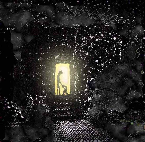 Dunkel, Traum, Zeichnung, Liebe, Schlaf, Angst