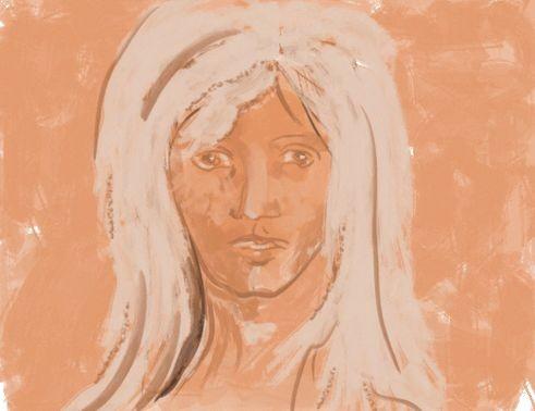Look At Me Twice Erstling Digital Photodraw Figural Von