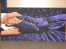 Malerei, Figural, Violett